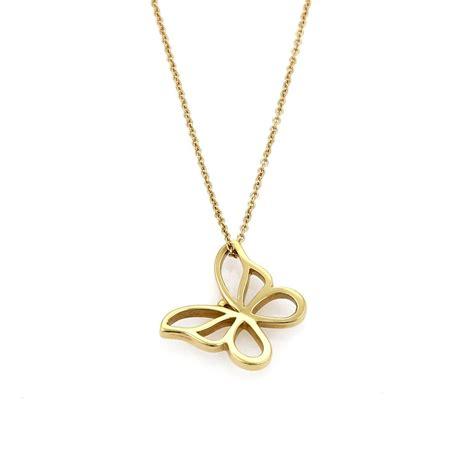 the butterfly gold 18k co 21690 open butterfly pendant in 18k yellow