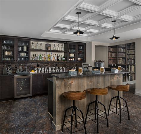 elegant rustic home bar designs   customize  home