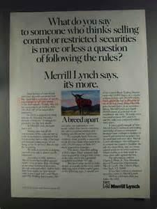 1980 Merrill Lynch Ad - Following the Rules?