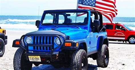 beach jeep accessories beach usa american flag jeep wrangler my jeep jerseyjeeper