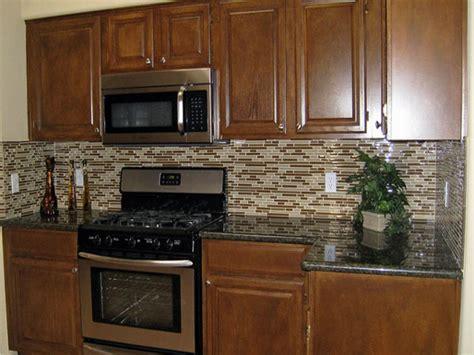 rustic elegant decor glass tile backsplashes  kitchens