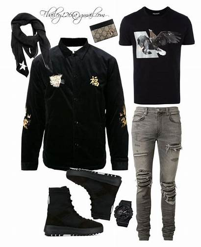 Polyvore Gucci Outfits Mens Swag Clothes Male