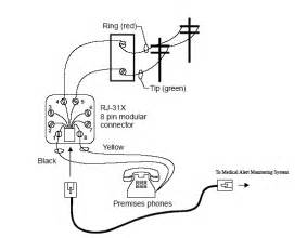 similiar 4 wire telephone wiring diagram keywords ether wall jack wiring diagram on 4 wire phone jack wiring diagram