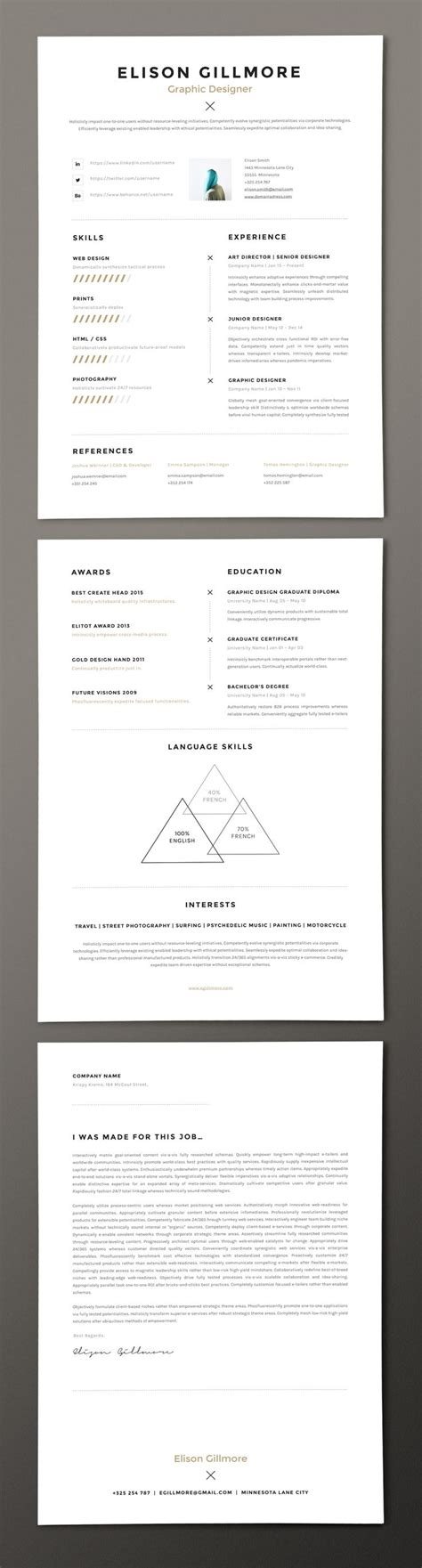 Windows Resume Templates by 66 Best Free Resume Templates For Word Images On