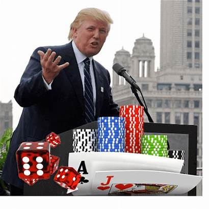 Trump Gambling Canada President