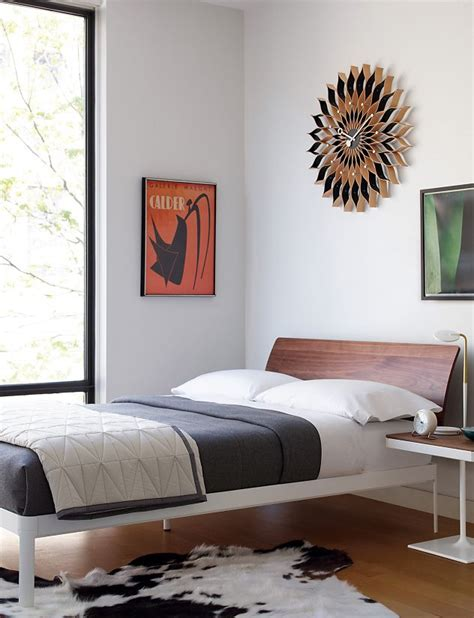 min bed with headboard design within reach