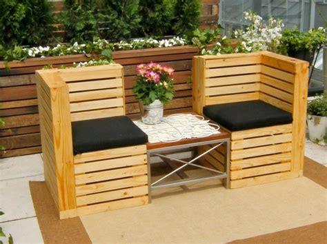 collection de salons de jardin en palettes astuces