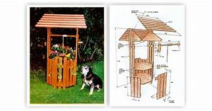 Wishing Well Planter Plans • WoodArchivist