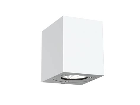dftp nordlux canto kubi outdoor wall light white