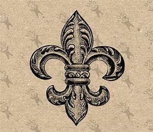 French symbol | Etsy