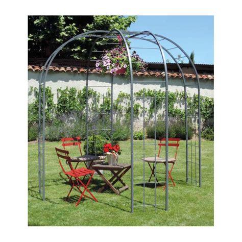 pavillon de jardin en acier jardin etssaisons