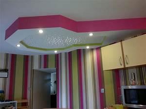 Decoration Faux Plafond : decoration placoplatre salon marocain ~ Melissatoandfro.com Idées de Décoration