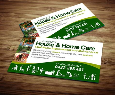 home improvement business cards arts arts