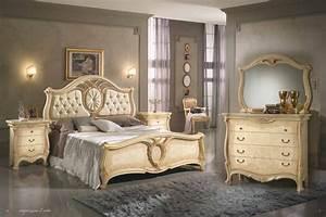 Möbel Aus Italien : design schlafzimmer sovrana italien beige qualit t bett kommode nakos spiegel ebay ~ Indierocktalk.com Haus und Dekorationen