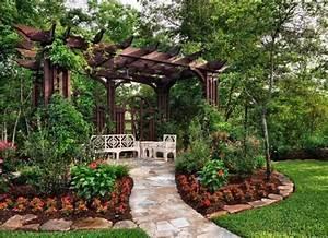 Plantes Pour Jardin Japonais Exterieur : plante grimpante ombre pour pergola de jardin ~ Premium-room.com Idées de Décoration