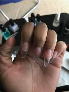 Acrylic Nails Tutorial Clear Tips - Nail Ftempo