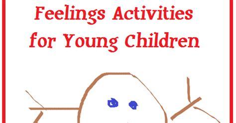 Feelings Activities For Young Children