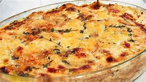 Caramelized Onion Scalloped Red Potatoes - Steven and Chris