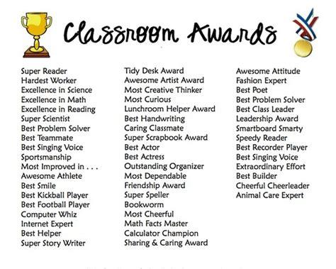 classroom award categories classroom ideas 216   178463dacef52f7f92cf93de4014f4d3
