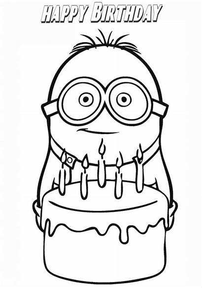 Birthday Happy Coloring Pages Printable Adults Wishing