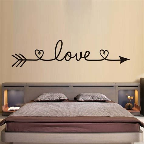 home wall decor stickers dctop arrow wall stickers bedroom decals