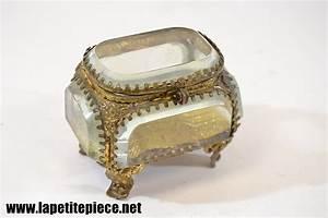 Boite A Bijoux En Verre : boite coffret bijoux en verre laiton ~ Farleysfitness.com Idées de Décoration