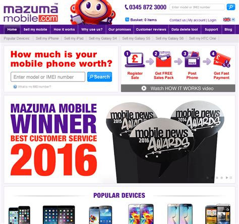 mazuma mobile compare by recyclers sell any mobile