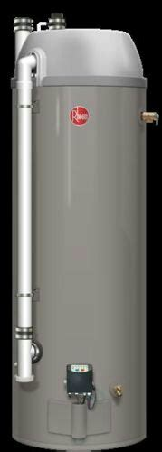 Rheem Rhe50 48 Gallon High Efficiency Condensing Powered