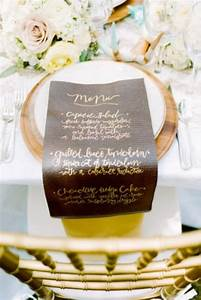 37 Creative Ways To Display Your Wedding Menu ...