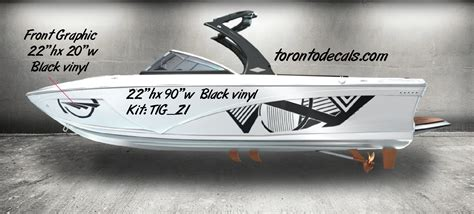Boat Name Graphics Canada by Tige Boat Graphic Kits Tige Boat Vinyl Kits Tige Rz2 Boat