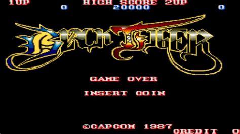 Black Tiger Round 1 2 1987 Capcom Mame Retro Arcade Games