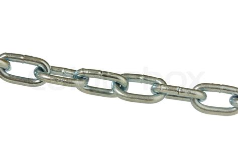 metal chain isolated  white background stock photo colourbox