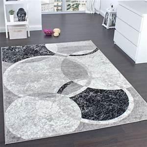 tapis noir et gris idees de decoration interieure With tapis gris noir