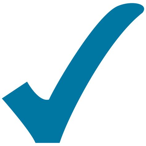 Check Image File Blue Check Svg Wikimedia Commons