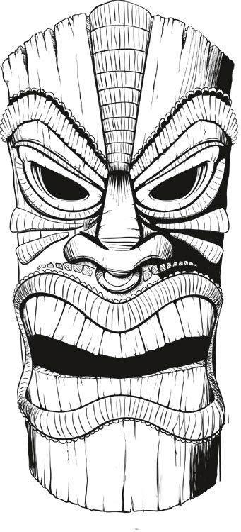 Tiki things   Drawings, Tiki art, Tiki mask
