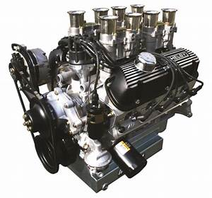 Aluminum 289  364ci Stage I With Weber Carburetor System