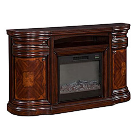 cherry media electric fireplace view 60 quot cherry media electric fireplace deals at big lots
