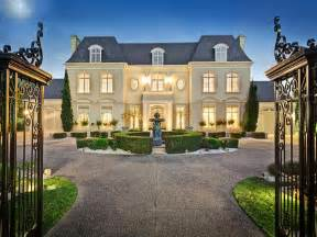 chateau style homes chateau style gated mansion in australia