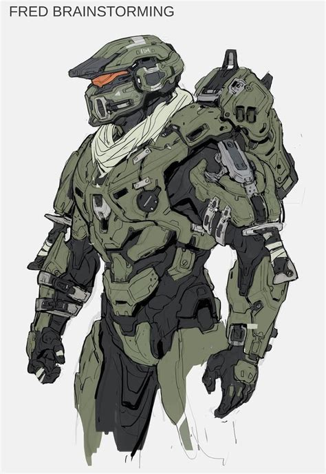 Heres A Ton Of Concept Art From Halo 5 Design Halo 5