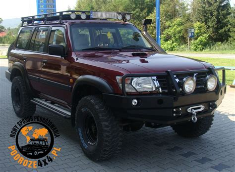 Maybe you would like to learn more about one of these? Zderzak przedni Nissan Patrol Y61 - Podroze4x4.pl