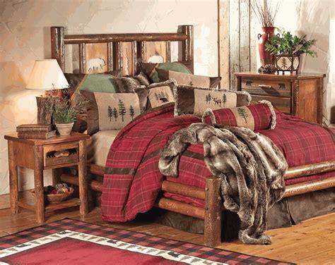 log bedroom sets pine crest log bedroom furniture collection
