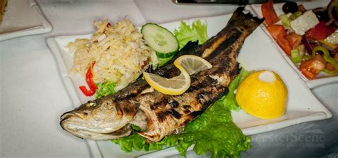 Mediterranean Sea Bass From Meze Greek Tapas
