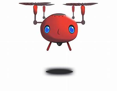 Clipart Drone Cartoon Animated Wave Lookout Bad