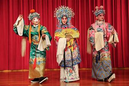 Opera Chinese Traditional Beijing Makeup Perform Meridian