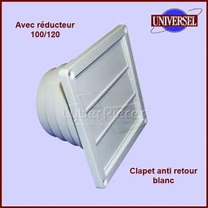 Clapet Anti Retour Hotte : clapet anti retour blanc multi diametres pour hottes ~ Premium-room.com Idées de Décoration