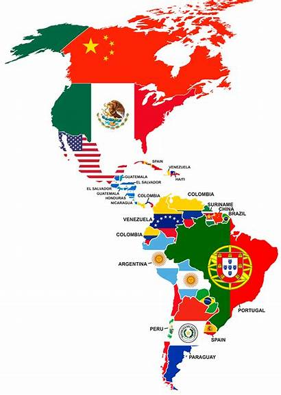 Countries American Americas America Nationality Foreign Largest