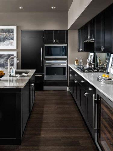 trendy dark kitchen cabinet ideas  builders