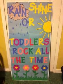 Preschool Classroom Door Decoration