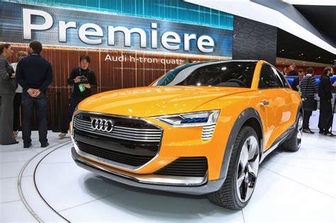 Salon Detroit 2018 Audi H Tron Quattro Concept Le Suv
