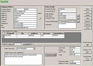 Ms Access Invoice And Quotation Billing System